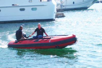 Emergency Response Boat