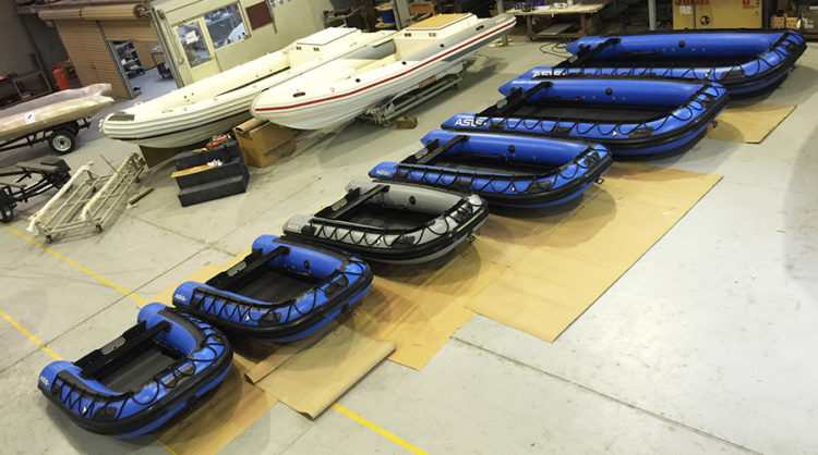Inflatable boats Model