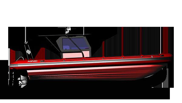 Rigid Inflatable dive boat