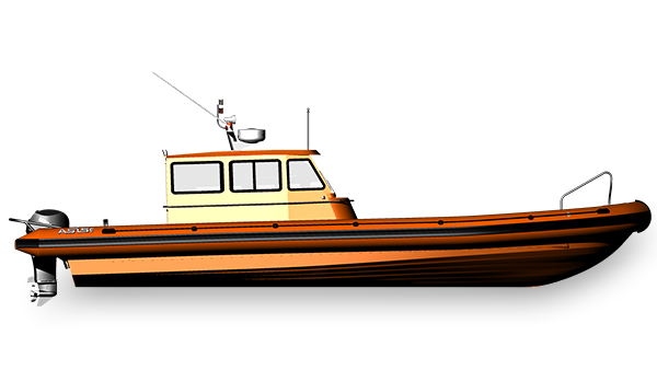 Sail Support Rigid Hull Inflatable Boats