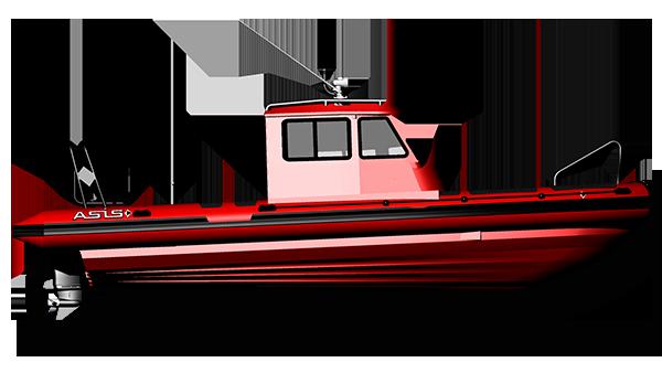 Professional Support RIB Boat
