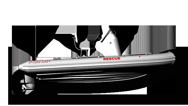 Outboard Search & Rescue RIB