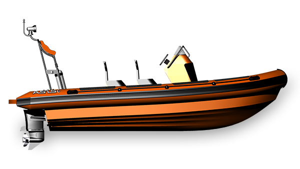 High Speed Search and Rescue Boat SAR