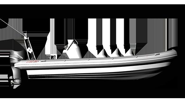 Touristic RIB Boat