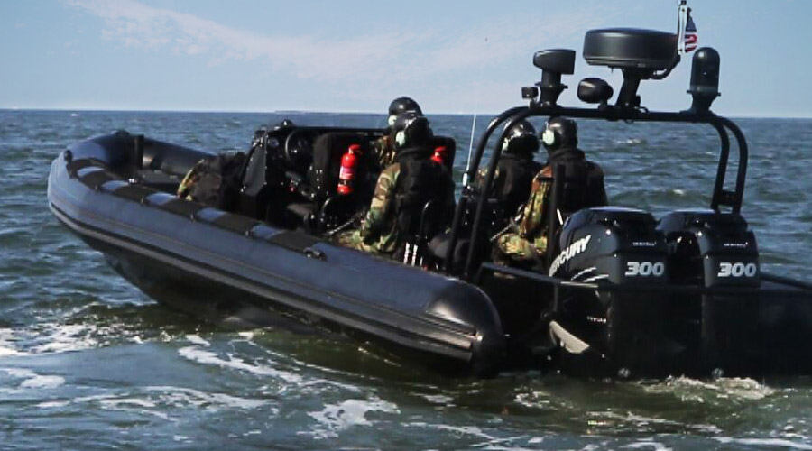 Military Coastguard RHIBs