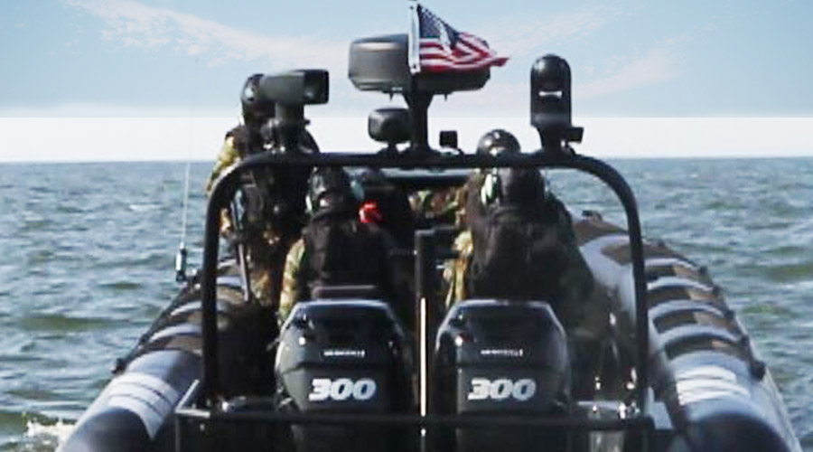 Military Coastguard RIB