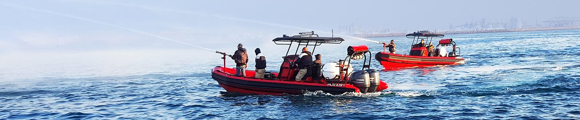 firefighting-boat
